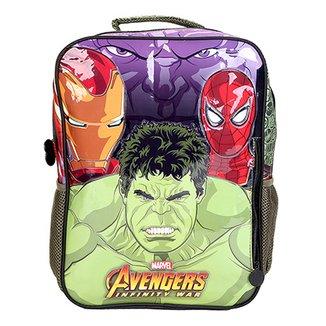 37a35b05e4 Mochila Escolar Infantil Xeryus Hulk