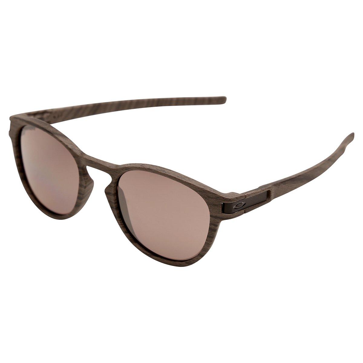 012ddb8429a5b Promoção em Óculos de Sol Oakley Latch Polarizado Masculino - Marrom ...