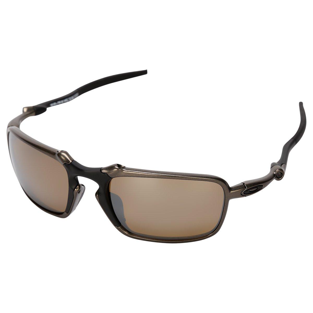 83cc5f0ee60fc Promoção em Óculos Oakley Badman - Iridium Polarizado - Preto e Bronze
