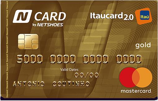 192a92e0d7fa7 Anuidade N Card Gold: Apenas 12 x R$ 23,90/mês (R$ 286,80/ano) cobrado após  desbloqueio do cartão. Renda mínima: R$ 2.500,00