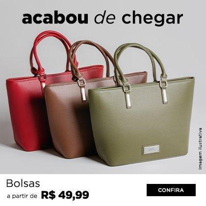 BOLSAS A PARTIR DE R$ 49,99