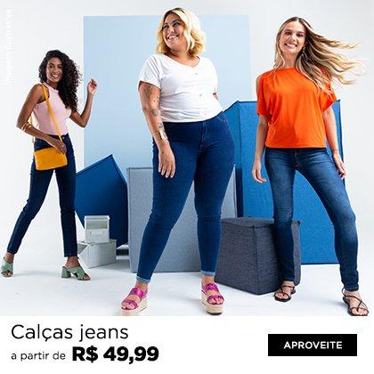 Jeans a partir de R$49,99