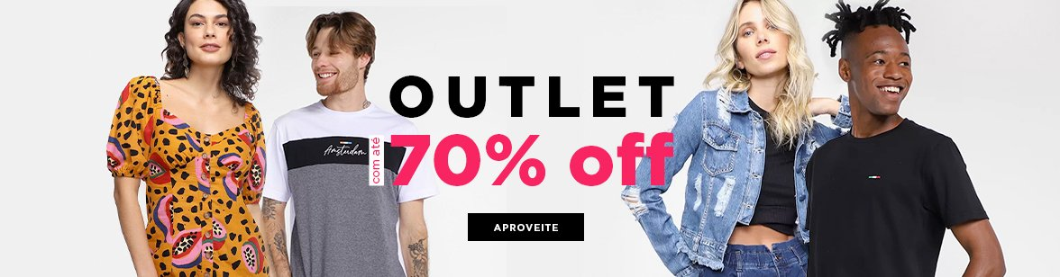 Outlet 70OFF