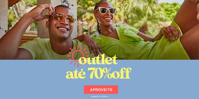 Outlet 70% off