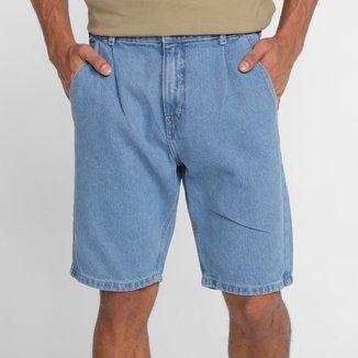 Bermuda Jeans Hering Masculina
