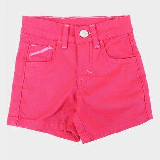 Shorts Infantil Malwee Básico Feminino