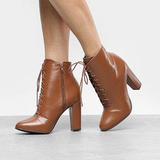 167637cba Botas Via Uno Feminino Marrom Claro - Calçados | Zattini
