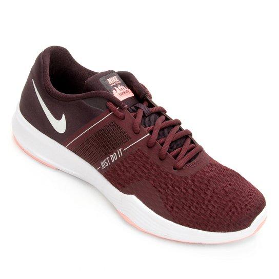 Tênis Nike City Trainer 2 Feminino - Vinho e Prata - Compre Agora ... a9b14223224be