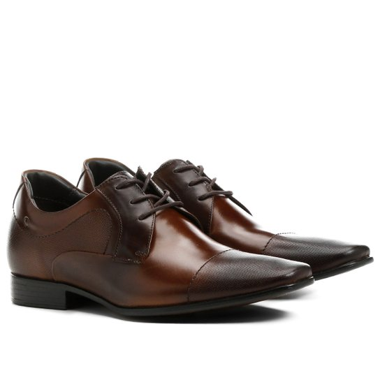 6030bd7c1 Sapato Social Couro Democrata Taller - Compre Agora