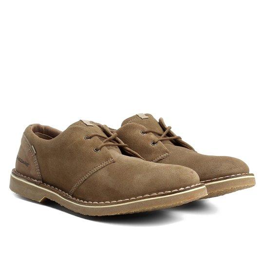 8b822a782 Sapato Casual Couro Kildare Sahara Camurça - Marrom Claro | Zattini