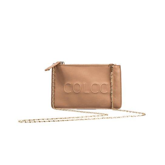 8302c2402 Bolsa Pequena Alto-relevo Colcci - Marrom Claro | Zattini