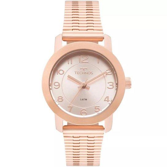b866a121d12 Relógio Feminino Technos 2035MLT 4J Aço - Bronze - Compre Agora ...