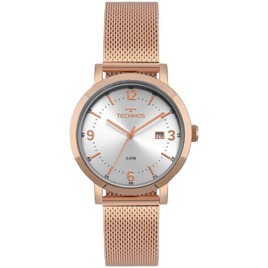 65e15c13839 Relógio Technos Feminino Dress - 2115MPE 4K 2115MPE 4K - Compre ...