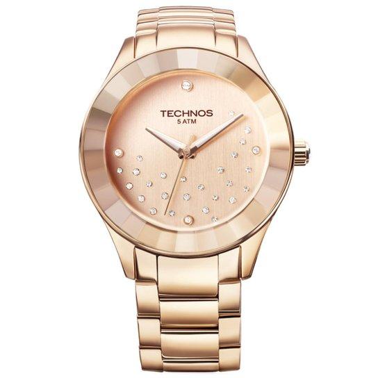 e775286cd7c Relógio Technos Feminino Rose Gold - 2036LLO 4T 2036LLO 4T - Compre ...