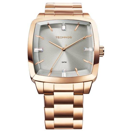 902df7c61ac Relógio Technos Feminino Rose Gold - 2039AF 4T 2039AF 4T - Compre ...
