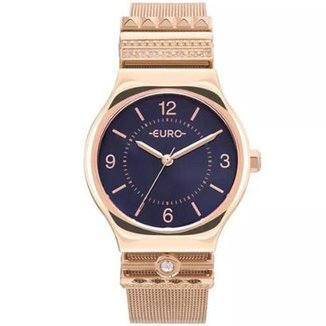 fcf6317adfe Relógio Feminino Euro EU2035YNJ 4T Aço