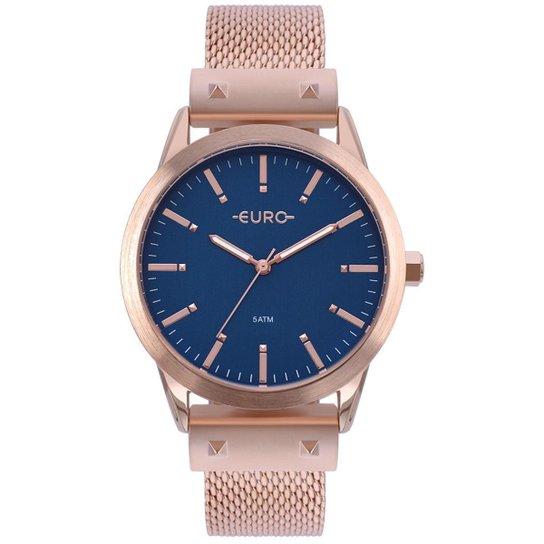 Relógio Euro Feminino Metal Glam - EU2035YOM 4A EU2035YOM 4A - Bronze 190570e186