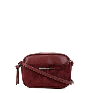 cf09106634 Bolsa Anacapri Mini Bag Alça Transversal NPQ Eco New Pe Feminina