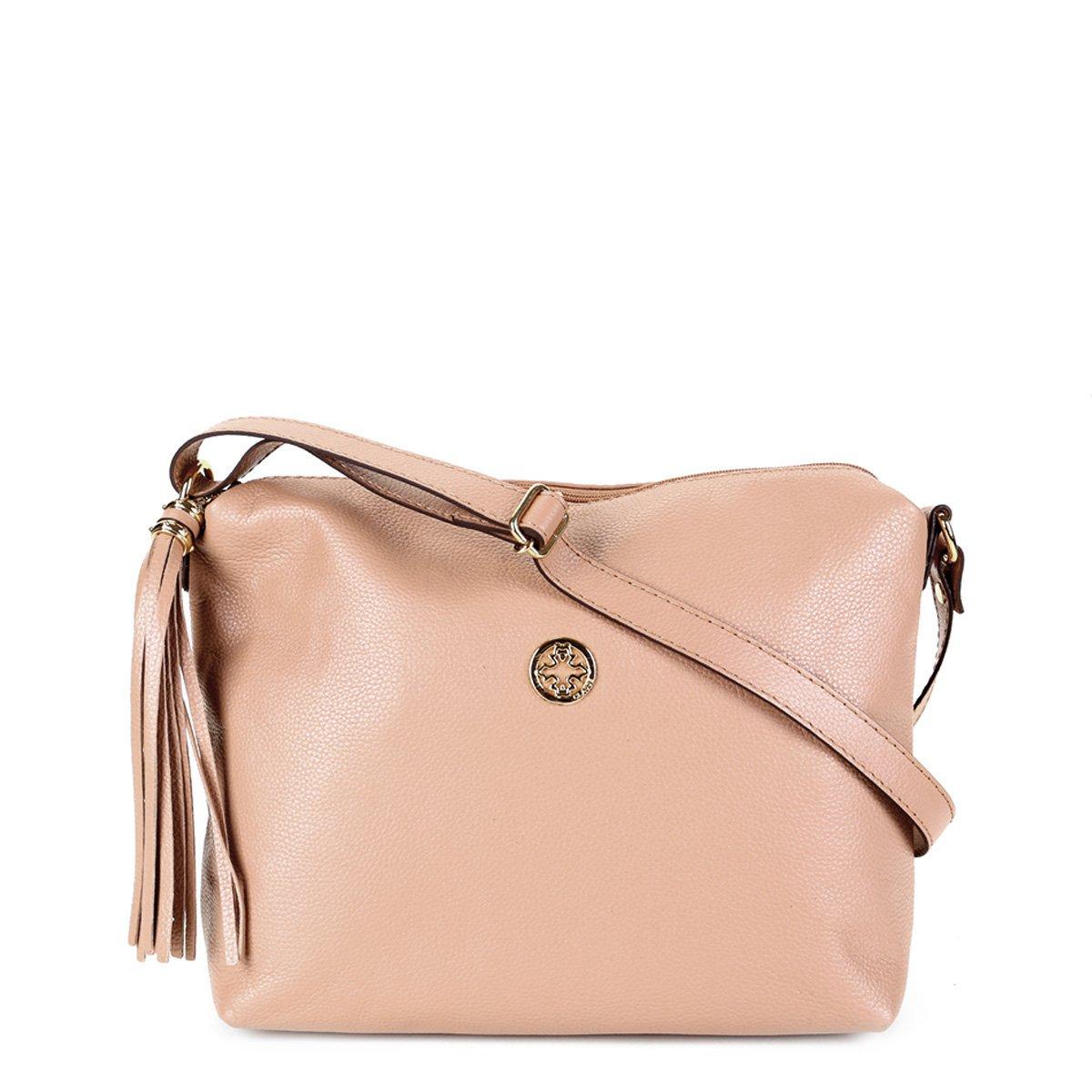 Bolsa Couro Classe Couro Handbag Tiracolo Média Feminina
