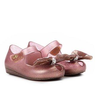Sapatilha Infantil World Colors Peep Toe Confeti Kids Feminina c573274bc5