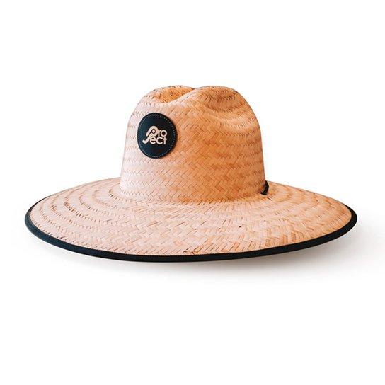 462999420d322 Chapéu De Palha Project - Preto - Marrom Claro - Compre Agora