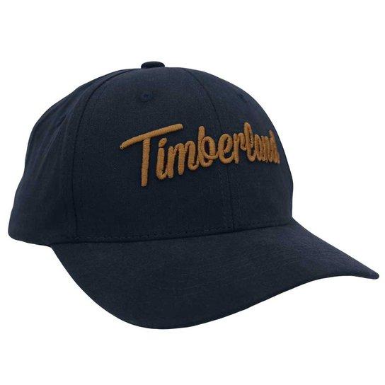 Boné Timberland Logo Cap - Marinho+Caramelo 5e67acab33a