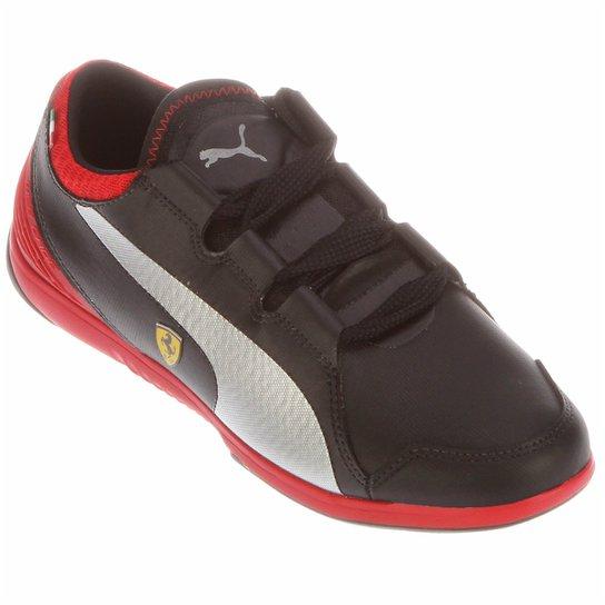Tênis Puma Valorosso Scuderia Ferrari Webcage - Preto+Vermelho 5b47d25f3c731
