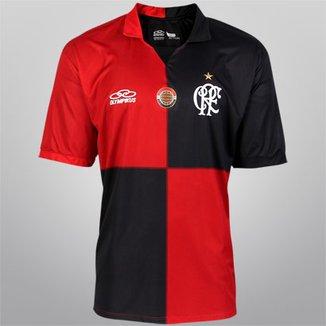 cc2d69e896 Camisa Olympikus Flamengo Centenário 2012 s/nº - Ed. Especial