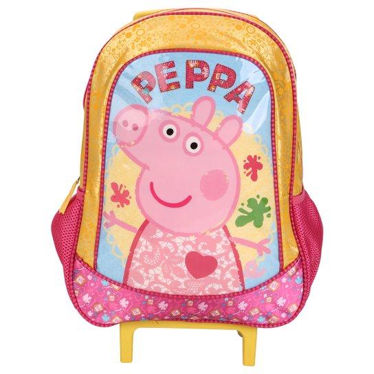26588659953 Mochila Rodinhas Peppa Pig Infantil - Compre Agora