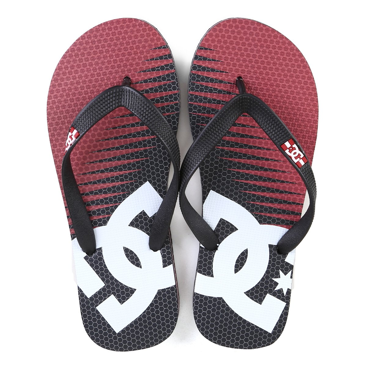 Chinelo DC Shoes Spray Graffik Masculino
