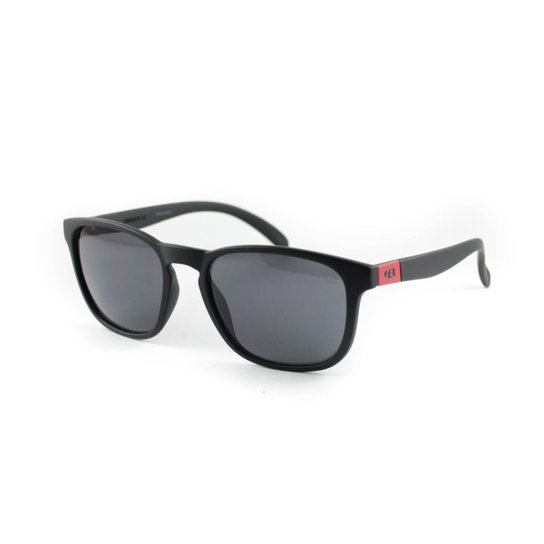 3ee982164 Óculos de Sol HB - Dingo 90118 702 - Preto e Vermelho   Zattini
