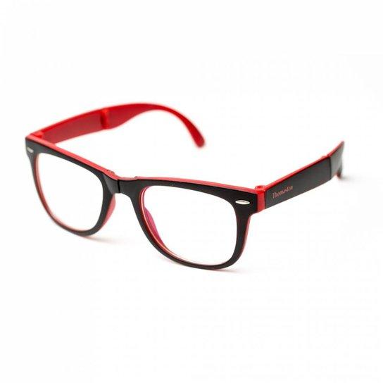 Armação de óculos Thomaston Dobrável Preto e V - Compre Agora   Zattini 61d2e1b1b8