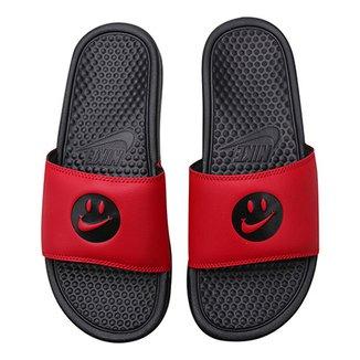 1629e9a7b9 Chinelo Nike Benassi Jdi Print