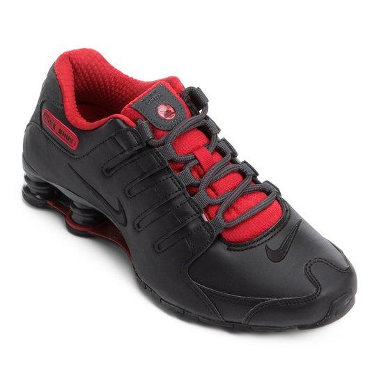 9c8cd1a6d2 Tênis Nike Shox Nz Se - Preto e Vermelho | Zattini