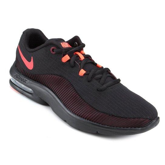 Tênis Nike Air Max Advantage 2 Masculino - Preto e Vermelho - Compre ... 733d40ae46b