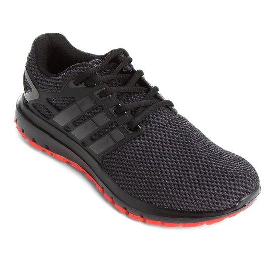 Tênis Adidas Energy Cloud Masculino - Preto e Vermelho - Compre ... f9b0794350270