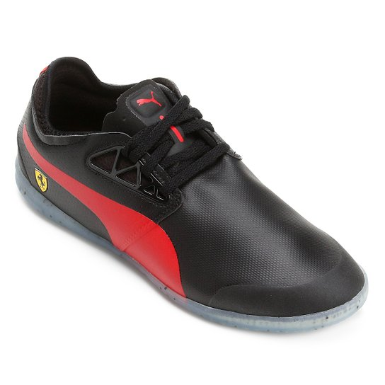 44fd7491715 Tênis Puma Scuderia Ferrari Changer Ignite Masculino - Preto+Vermelho