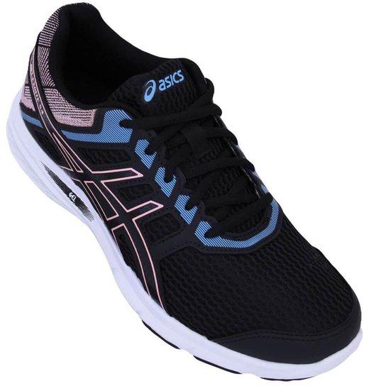 Tênis Asics Gel Excite 5 A Feminino - Preto e Azul - Compre Agora ... d0aef0302d67e