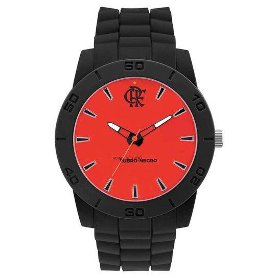 5cd4d10478bbc Relógio Mormaii Flamengo - Preto+Vermelho
