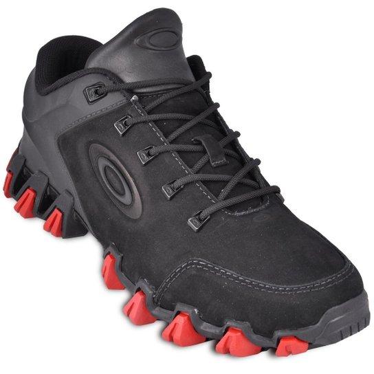 Tênis Oakley Mechanism Masculino - Preto e Vermelho - Compre Agora ... 520ca93097