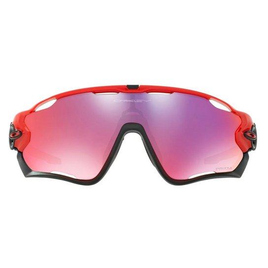 dac2cfe088 Óculos de Sol Oakley Jawbreaker - Preto+Vermelho