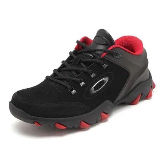 Tênis Oakley Mechanism 2 Masculino - Preto e Vermelho - Compre Agora ... fda02918385