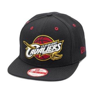 Boné New Era Snapback Original Fit Cleveland Cavaliers - NBA 8837082bf87