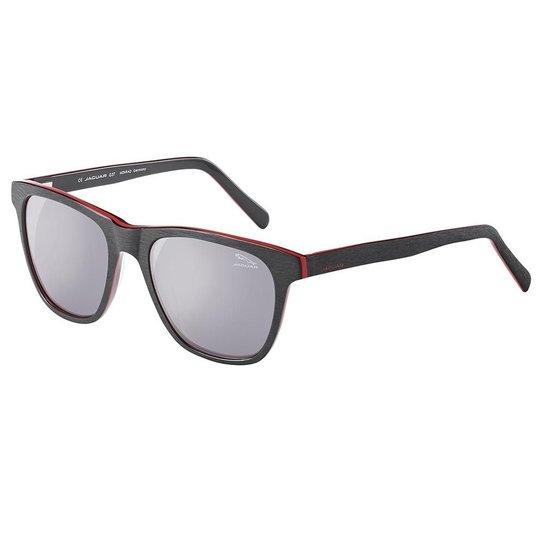 a1e8934c3 Óculos De Sol Masculino Jaguar - Preto e Vermelho | Zattini