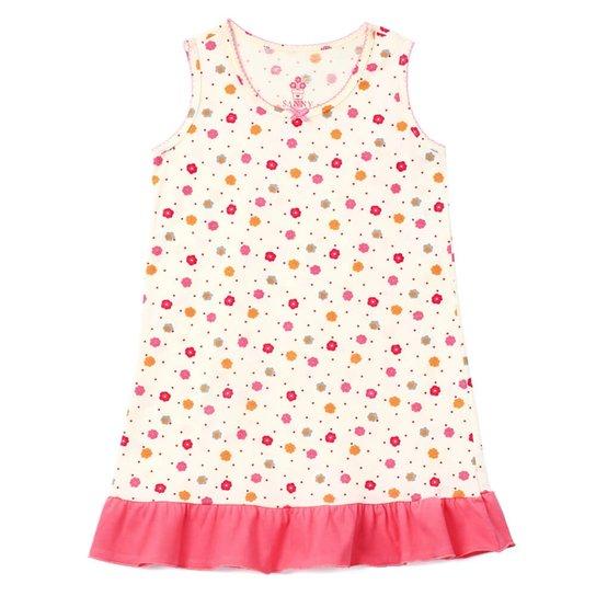 be960537a33707 Camisola Floral Sanny - Amarelo e Rosa