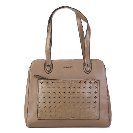 54268cada Bolsa Chenson Tote Shopper Feminina - Nude - Compre Agora | Zattini