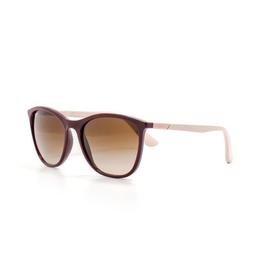 572496929 Óculos de Sol Ray Ban Quadrado Lente Acrílico Feminino - Nude | Zattini