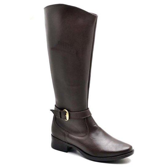 a2f9c3449 Bota Top Franca Shoes Country Feminino. - Café   Zattini