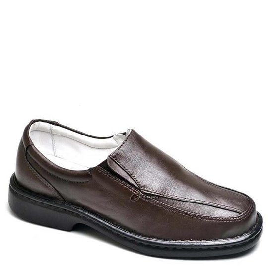 498365d56 Sapato Confort Top Franca Shoes Masculino - Café | Zattini