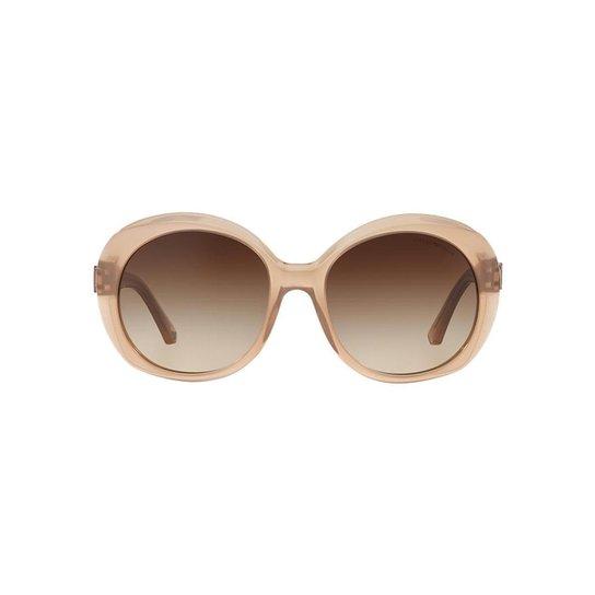 56a71b129f7f7 Óculos de Sol Emporio Armani Redondo EA4009 Feminino - Compre Agora ...